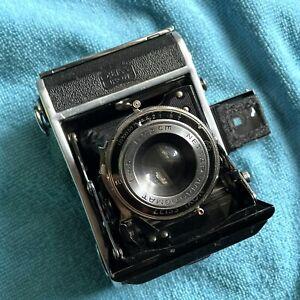 *FILM TESTED* Zeiss Ikon Nettar 515 Medium Format Camera w/ 75mm 4.5 Lens
