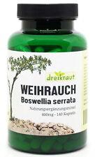Weihrauch Extrakt dreikraut, 140 Kapseln, 1600mg Tagesdosis, vegan & hochdosiert