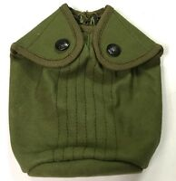 WWI US M1910 EAGLE SNAP CANTEEN COVER-PEA GREEN