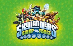 Skylanders Swap Force Buy 3 Get 1 Free.....Free Shipping !!!!