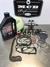 Suzuki LTZ 400 2004 Complete engine rebuild Crank Bearing piston oil filter etc