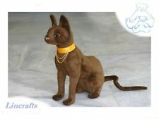 Pharaoh Cat.Plush Soft Toy by Hansa.4914.24cm