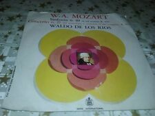 "45 GIRI DISCO 7"" vinile WALDO DE LOS RIOS Mozart sinfonia 40 -ottimo"