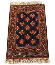 nord-persan Turkmène Tapis 170 x 114 cm 100% laine Turkmène CARPETTE TRIBALE