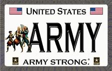 U.S.Army - Army Strong - Magnetic Car Sign - 6in X 3.75in