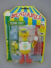 Big Bird Bendable Figure Camp Sesame Street Tennis Player 5 inch Bendy