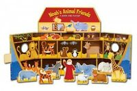 Book,  Noah's Ark  Animal Friends, A Book and Playset, Ages 3-5