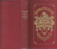 C1 Gouraud CECILE OU LA PETITE SOEUR Bibliotheque Rose Illustree DESANDRE