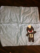 FENDI baby FF logo monster blanket