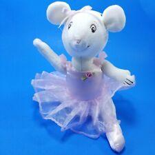 "2001 American Girl Angelina Ballerina 10"" Stuffed Plush Movable Arms Legs"