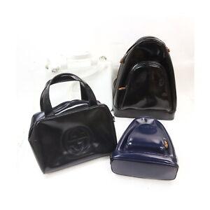 Gucci Enamel Hand Bag Back Pack 4 pieces set 526118