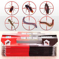 10X Cockroach Killing Bait Sticky Catcher Traps Cockroaches House Trap Effective