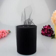 "6""x100 Yard Tulle Roll Spool Tulle Fabric DIY Tutu Skirt Bow Gift Craft Wedding"