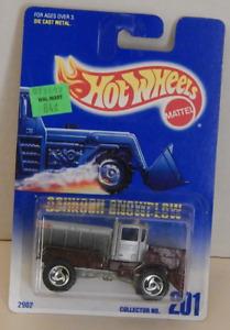 Oshkosh Snowplow Dump Truck Hot Wheels Basic Line 1997-201