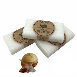 100g SNAIL Soap Natural Anti Acne Pigmentation Wrinkles Stretch Marks Scar Shea
