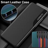 Coque Pour Samsung S20 FE Ultra S10 Lite S9 + S8 + S7 Smart View Housse En Cuir
