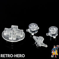 Gameboy Pocket Knöpfe GBP Buttons Game Boy Tasten Pads clear Knopf Transparent