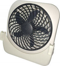 O2 Cool Pet Crate Fan 2 Speed Battery Operated Camping Travel Dog Show Desk Fan