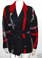 Pioneer Wear Southwestern artistic blanket coat jacket  8