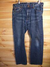 """Paul Smith Rojo Oreja Jeans 34"""" hecho en Japón orillo"""