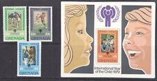 Grenada  1979 Year of the Child set + mini sheet MNH