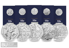 Own ALL FIVE Military 50ps re-issued for 2019
