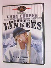 The Pride of the Yankees (DVD, 2002)-  Gary Cooper, Babe Ruth - FREE SHIPPING