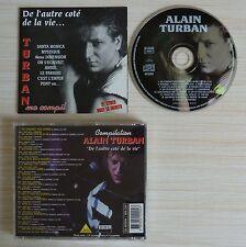 TRES RARE CD ALBUM ALAIN TURBAN DE L'AUTRE COTE DE LA VIE MA COMPIL BEST OF 21T