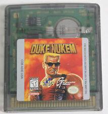 Duke Nukem (Nintendo Game Boy Color, 1999)-Authentic-GBA-GameBoy Advance-Saves