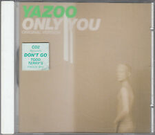Yazoo : Only You 3 track CD2 Single Todd Terry Freeze Mix FASTPOST