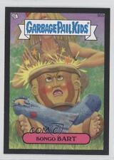 2013 Topps Garbage Pail Kids Brand-New Series 2 Black #95b Bongo Bart Card 0a1
