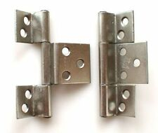 Hinge Cabinet 63mm pk 2 9mm Cranked Offset Nickel Plate one pair see details