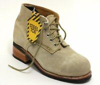 165 Bottes en Cuir Chaussures à Lacets Travailleur Pays Western Homme Buffalo 44