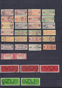 084896 DDR ZKD o Briefmarken Stamps - Lot aus Nachlass