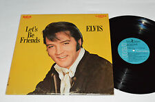 ELVIS PRESLEY Let's Be Friends LP CAS-2408 Camden Blue Label Made in Canada VG+