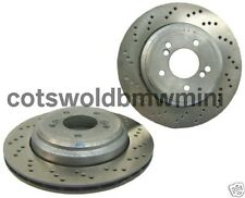 Genuine BMW E46 M3 Rear Brake Discs Set