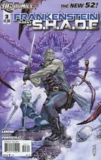 Frankenstein: Agent of Shade #3 Comic Book 2011 New 52 - DC