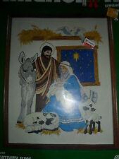 1981 Dimensions Nativity Scene #8001 Jesus Mary Joseph Christianity NIP