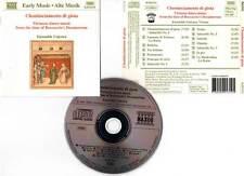 CHOMINCIAMENTO DI GIOIA (CD) Ensemble Unicorn 1994