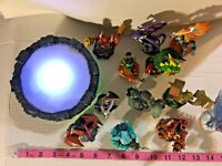 WII Skylanders Portal of Power 12 Figures  Gift SKU 026-039