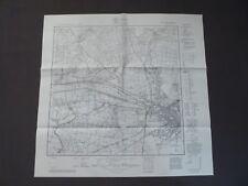 Landkarte Meßtischblatt 2873 Bromberg (West), Bydgoszcz, Posen, Polen, 1940