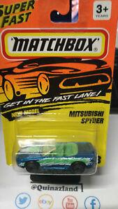 Matchbox Superfast Mitsubishi Spyder #28 (CP05)