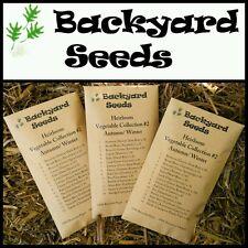 HEIRLOOM Vegetable Seeds Autumn Winter, 15 Varieties