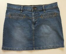Tommy Hilfiger Mini Short Denim Jean Skirt Size 7 Blue