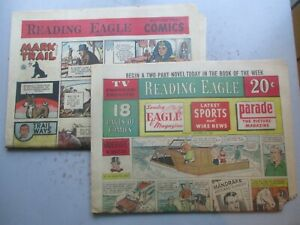 Reading (PA) Eagle COMPLETE Comics Section from October 20, 1963 18 pages