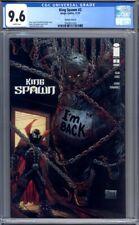King Spawn #2  Todd McFarlane Variant    1st Print  CGC 9.6