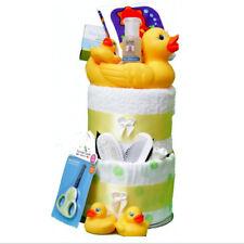 New Born Baby My Deluxe Little Ducks 1st Bath Nappy Cake