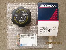 GM 15075118 ACDELCO RC-98 RADIATOR ENGINE COOLANT TANK FLUID CAP OEM BRAND NEW