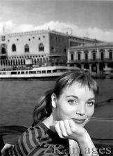 ELSA MARTINELLI Mostra VENISE Cinema Candid Photo 1956