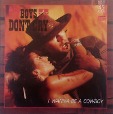 "Boys Don't Cry - I Wanna Be A Cowboy - 12"" Maxi - K1089 - washed & cleaned"